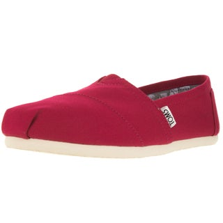 Toms Women's Classic Barberry Pink Casual Shoe