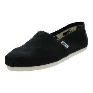 Toms Classics Casual Shoes (Black Canvas) https://ak1.ostkcdn.com/images/products/12330493/P19162132.jpg?impolicy=medium