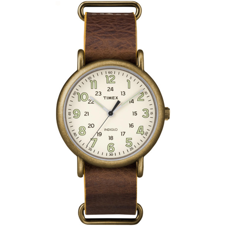 Timex Men's TW2P857009J Weekender Oversized Antiqued Bras...