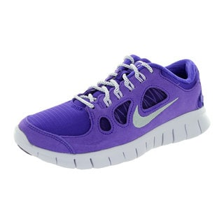 Nike Kids Free 5.0 Ltr (Gs) Electric Purple/Metallic Silver/Vlt Frst Running Shoe