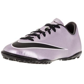 Nike Kid's Jr Mercurial Victory V Tf Urban Lilac/Black/Brightt Mng/White Soccer Cleat