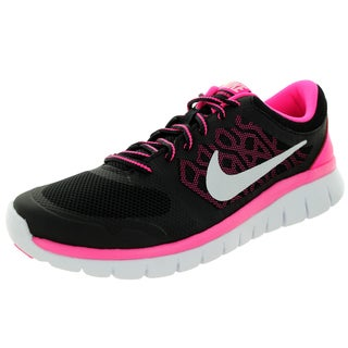 Nike Kids Flex 2015 (Gs) Black/White/Pink Pow Running Shoe