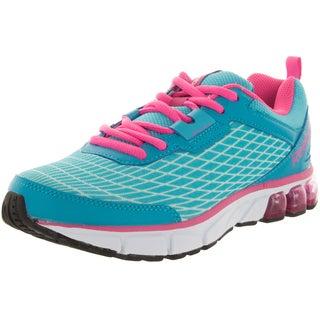 Reebok Kid's Jet Dashride Blue/Cool Breeze/Pink Running Shoe