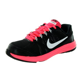 Nike Kids Fusion Run 3 (Ps) Black/White/Hyper Punch/White Running Shoe