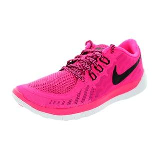 Nike Kids Free 5.0 (Gs) Pink Pow/Black/Vivid Pink/White Running Shoe|https://ak1.ostkcdn.com/images/products/12330617/P19162248.jpg?impolicy=medium