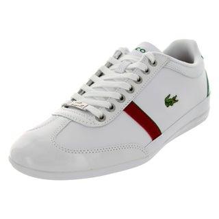 Lacoste Men's Misano Sport Slx Spm White/Green Casual Shoe