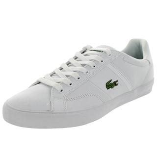 Lacoste Men's Fairlead Spm White/White Casual Shoe