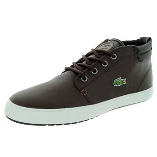 Lacoste Men's Ampthill Terra Twd2 Spm Dark Brown/Dark Brown Casual Shoe