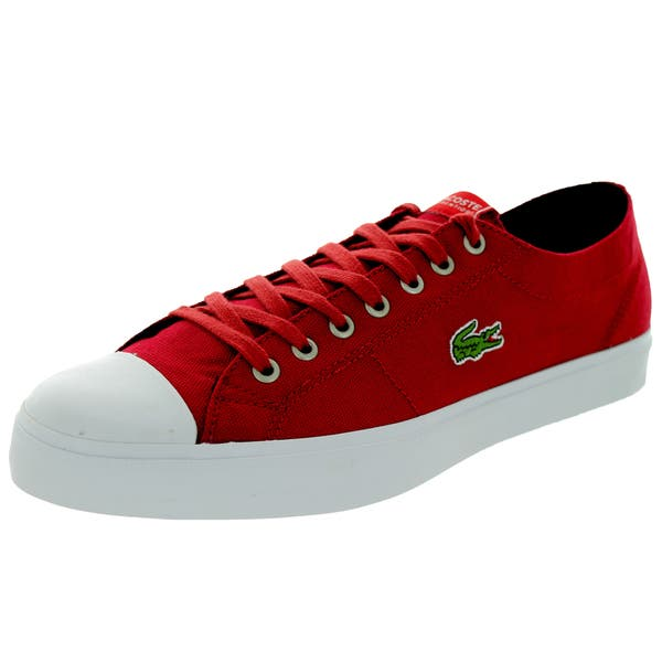 ca3a1a3e6 Shop Lacoste Men s Marcel Chunky Tc Cts Red Red White Casual Shoe ...