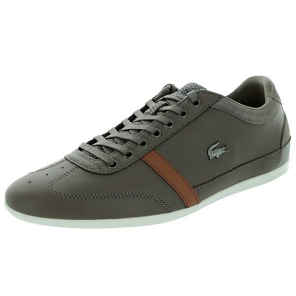e68747aed Shop Lacoste Men s Misano 32 Srm Khaki Casual Shoe - Free Shipping ...