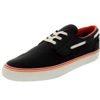 Lacoste Men's Barbuda Dw Lem Black/Red Casual Shoe