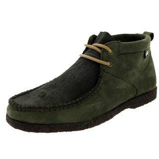 Lacoste Men's Troxler Crepe Dk G/Lt Brw Casual Shoe
