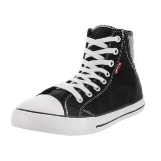 Levi's Men's Hamilton Buck Hi Black/Brown Casual Shoe