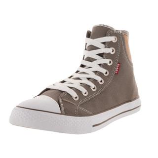 Levi's Men's Hamilton Buck Hi Charcoal/Brown Casual Shoe