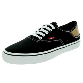 Levi's Men's Jordy Buck Black/Brown Skate Shoe
