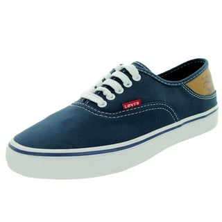 Levi's Men's Jordy Buck Navy/Brown Skate Shoe