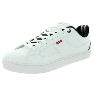 Levi's Men's Gavin Core Pu White/Black Casual Shoe