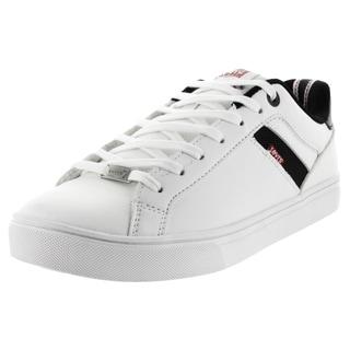 Levi's Men's Henry Core Pu White/Black Casual Shoe
