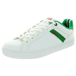 Levi's Men's Henry Core Pu White/Green Casual Shoe