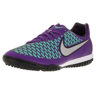 Nike Men's Magista Onda Tf /Metallic Silver/Purple Turf Soccer Shoe
