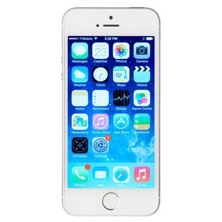 Apple iPhone 5s 64GB Certified Refurbished Unlocked GSM 4G LTE Dual-Core Phone w/ 8 MP Camera - Silver CRB