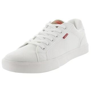 Levi's Men's Corey Canvas Ii White Casual Shoe