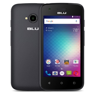 BLU Dash L2 D250U Unlocked GSM Quad-Core Android v6.0 Phone - Black