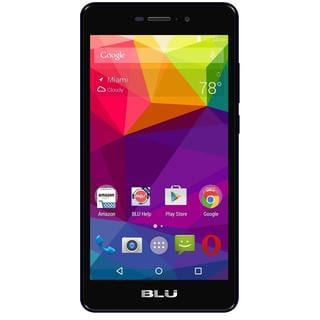 BLU Life XL L0050UU 8GB Refurbished Unlocked GSM 4G LTE Quad-Core Phone - Black