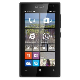 Microsoft Lumia 435 T-Mobile Dual-Core Windows Phone - Black