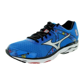 Mizuno Men's Wave Inspire 10 Blue/White/Red Running Shoe
