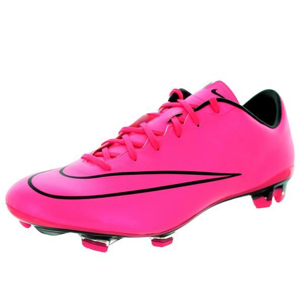 detrás Medieval Más bien  Nike Men's Mercurial Veloce Ii Fg Hyper Pink/Hyper Pink/Black/Black Soccer  Cleat - Overstock - 12330789