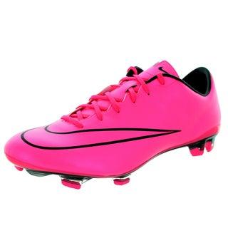 Nike Men's Mercurial Veloce Ii Fg Hyper Pink/Hyper Pink/Black/Black Soccer Cleat