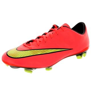 Nike Men's Mercurial Veloce Ii Fg Punch/ Gold Black/Vlt Soccer Cleat