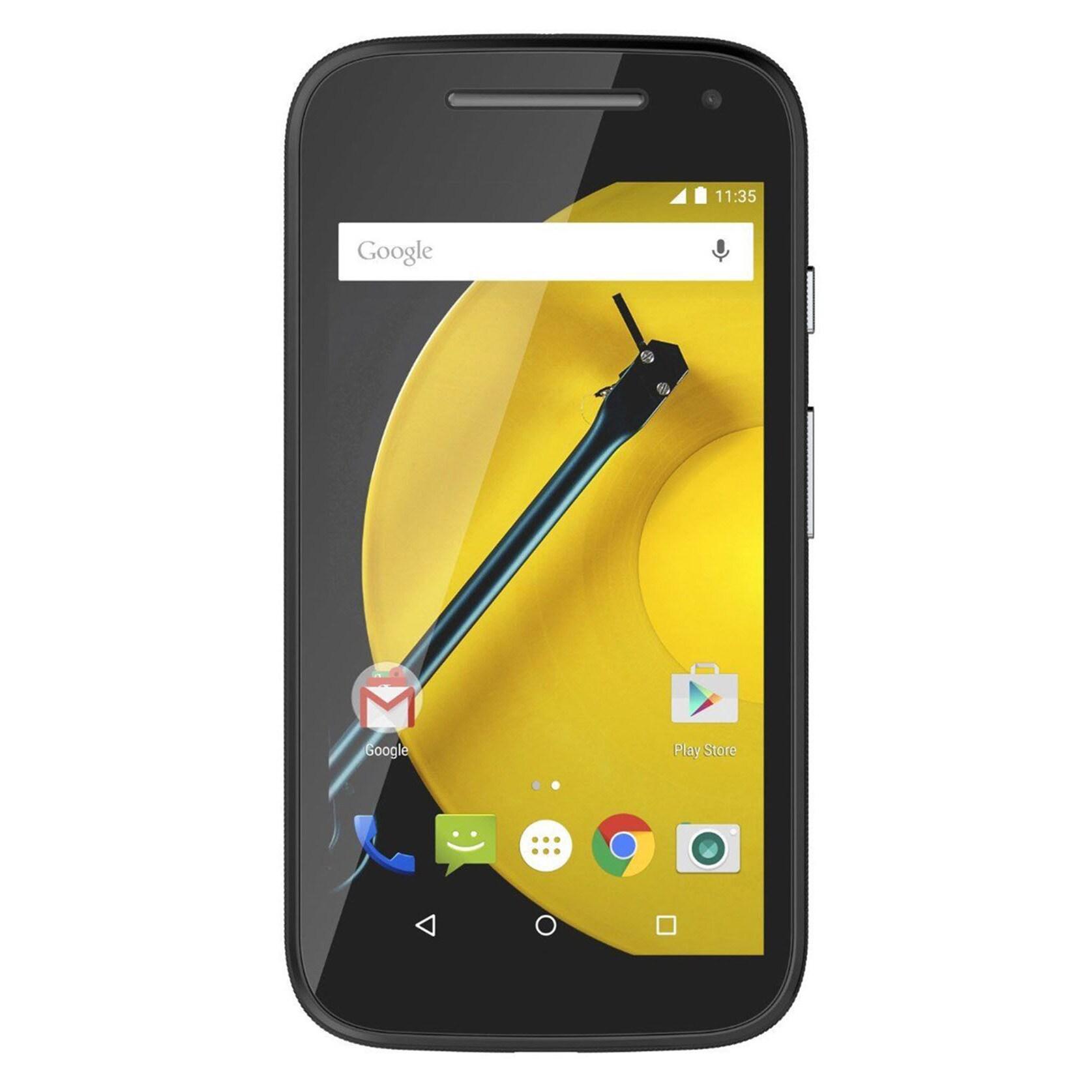 Motorola E XT1527 At&t Android v5.1 Phone - Black (Black)