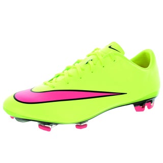 Nike Men's Mercurial Veloce Ii Fg Volt/Hyper Pink/Black Soccer Cleat