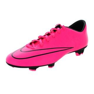 Nike Men's Mercurial Victory V Fg Hyper Pink/Hyper Pink/Black/Black Soccer Cleat