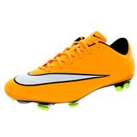 Nike Men's Mercurial Veloce Ii Fg Laser Orange/White/Black/Volt Soccer Cleat
