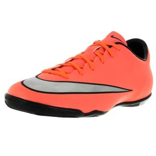 Nike Men's Mercurial Victory V Ic Brightt Magenta/Metallic Silver/ Trq Indoor Soccer Shoe