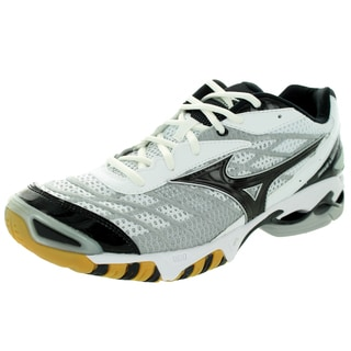 Mizuno Men's Wave Lightning Rx White Grey And Black Volleyball Shoe