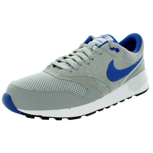 a335ed18bf1327 Shop Nike Men s Air Odyseey Silver Game Royal White Running Shoe ...