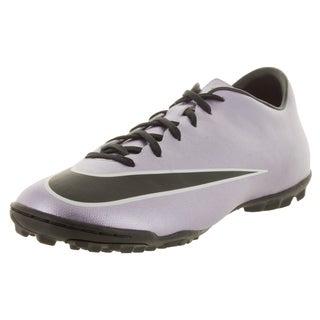 Nike Men's Mercurial Victory V Tf Urban Lilac/Black/Brght Mgn/White Turf Soccer Shoe