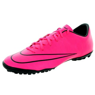 Nike Men's Mercurial Victory V Tf Hyper Pink/Hyper Pink/Black/Black Turf Soccer Shoe