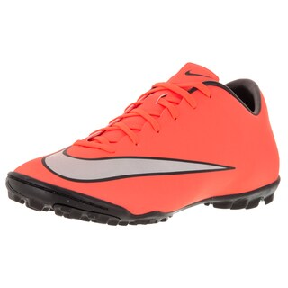 Nike Men's Mercurial Victory V Tf Brightt Magenta/Metallic Silver/ Trq Turf Soccer Shoe