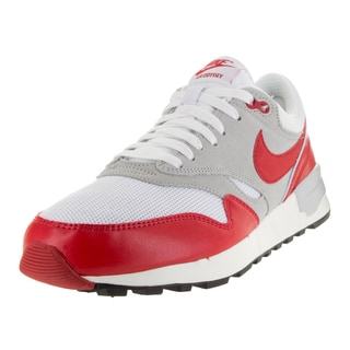 Nike Men's Air Odyssey White/University Red/Ntrl /Sl Running Shoe