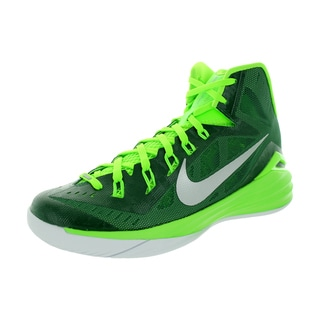 Nike Men's Hyperdunk 2014 Tb Grg Green/Metallic Silver/Elctrc G Basketball Shoe