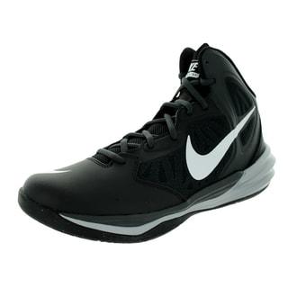 Nike Men's Prime Hype Df Black/White/Anthracite/Dark Grey Basketball Shoe