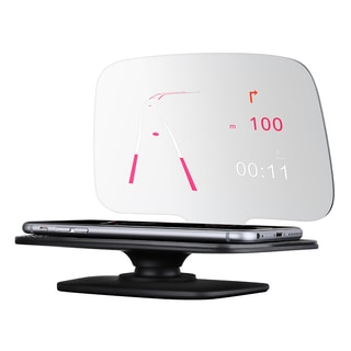 Mpow Universal 5.5-inch Car GPS Head-up Display Speedometer For Phone Navigation