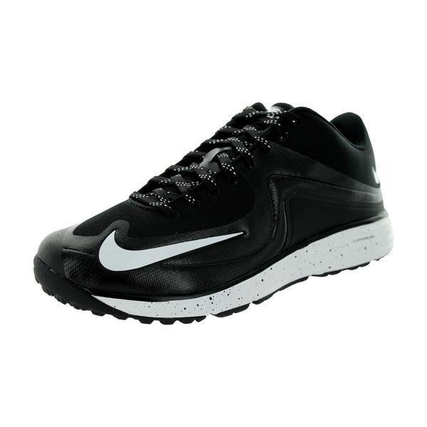 buy online 0d7c6 a8963 Nike Men  x27 s Lunar Mvp Pregame 2 Black White Training Shoe