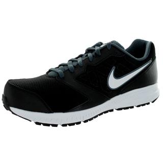 Nike Men's Downshifter 6 4E Black/White Magnet Grey Running Shoe