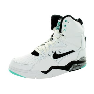 Nike Men's Air Command Force White/Black/Wolf Grey/ Jd Basketball Shoe